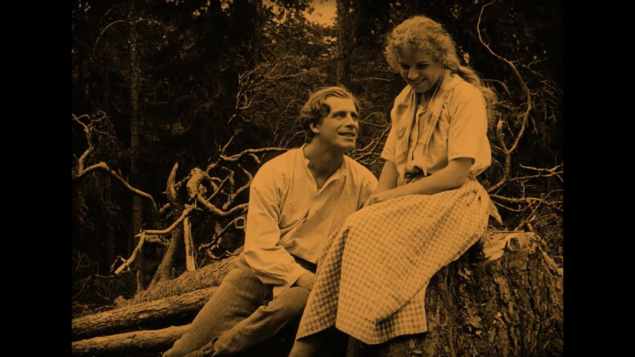 Sången om den eldröda blomman (1919)
