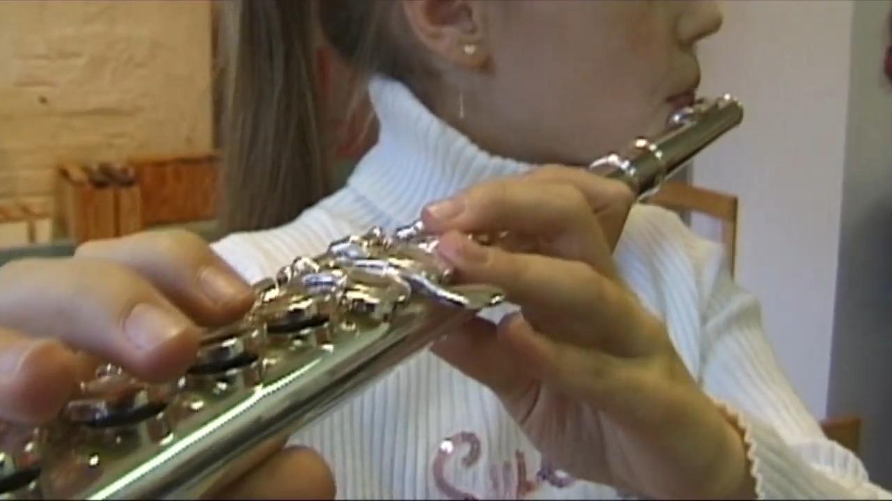Våra musikinstrument – tvärflöjt