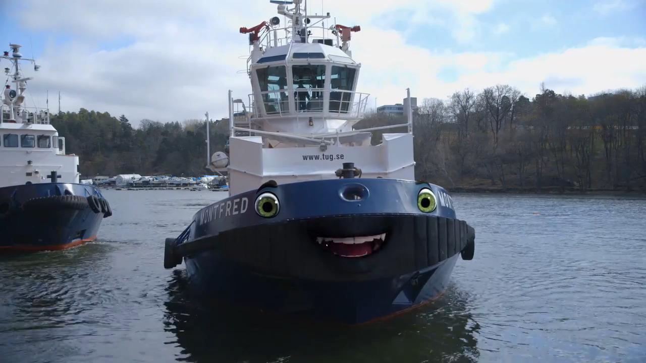Bilakuten – Bogserbåten