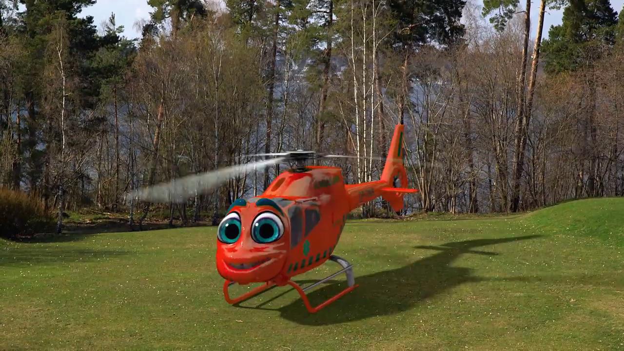Bilakuten – Ambulanshelikoptern