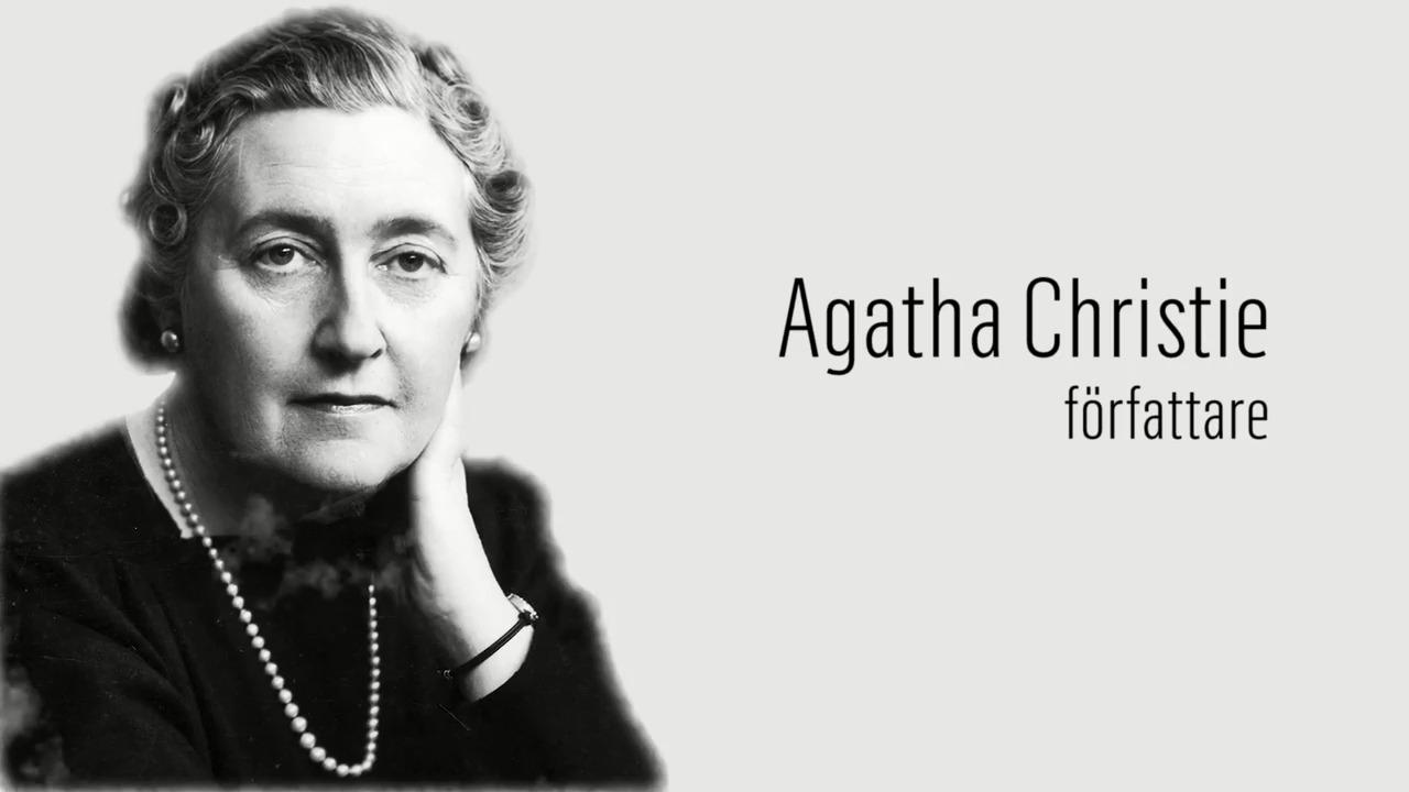 Berömda kvinnor – förr och nu: Agatha Christie