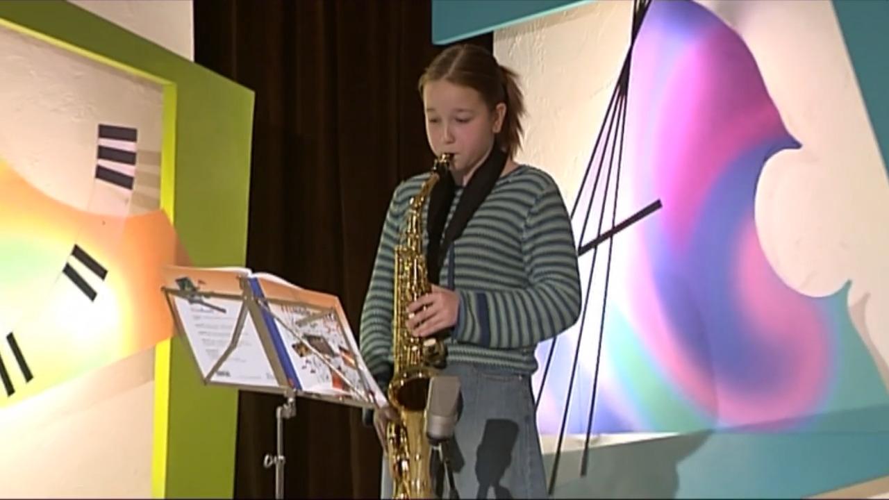 Våra musikinstrument – saxofon