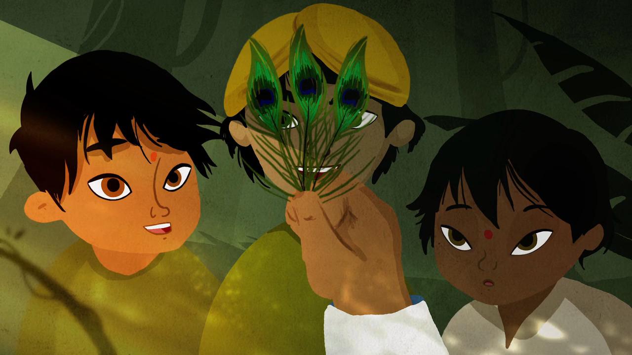 La hora de los cuentos – Las Tres Plumas (Indien)