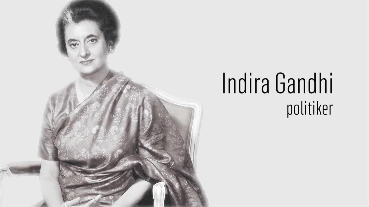 Berömda kvinnor – förr och nu: Indira Gandhi