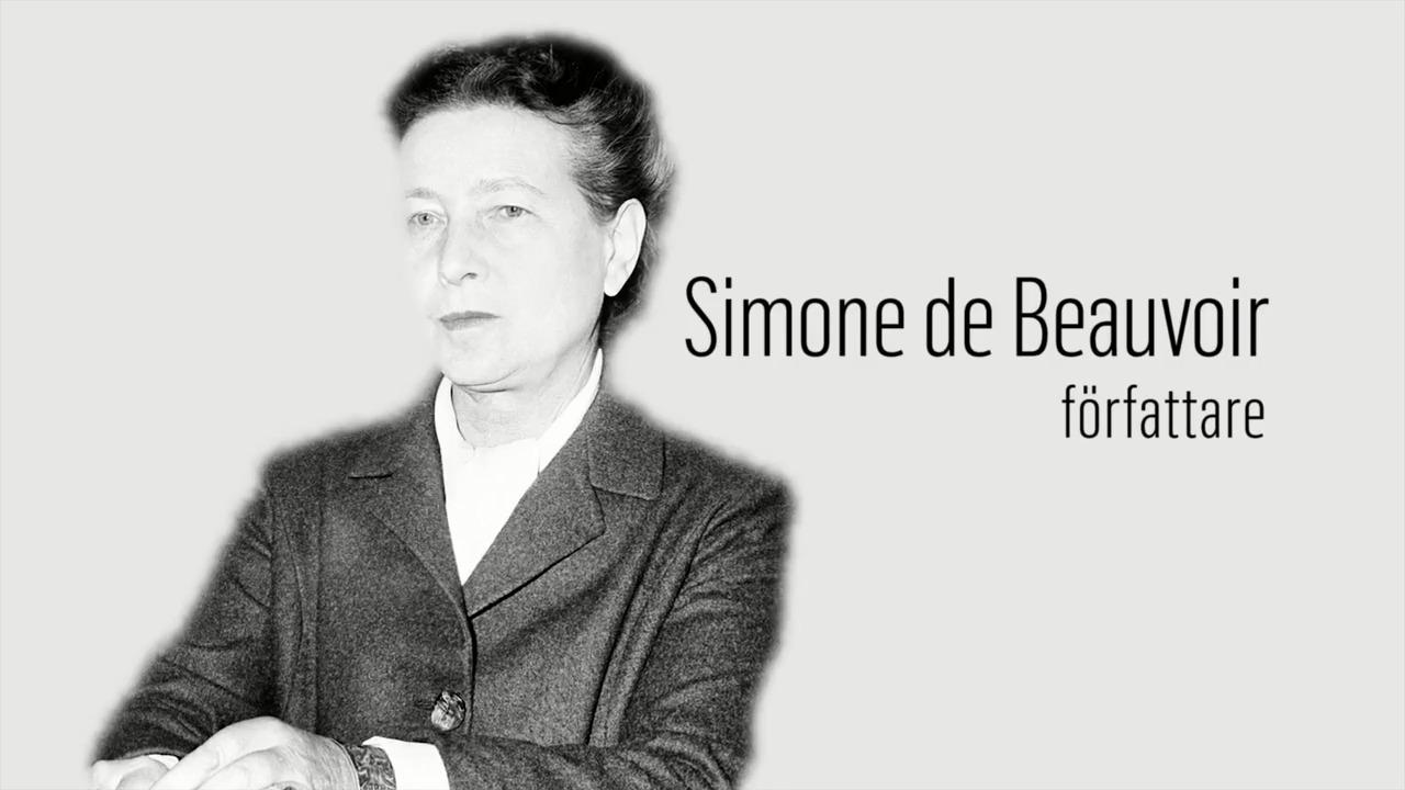 Berömda kvinnor – förr och nu: Simone de Beauvoir