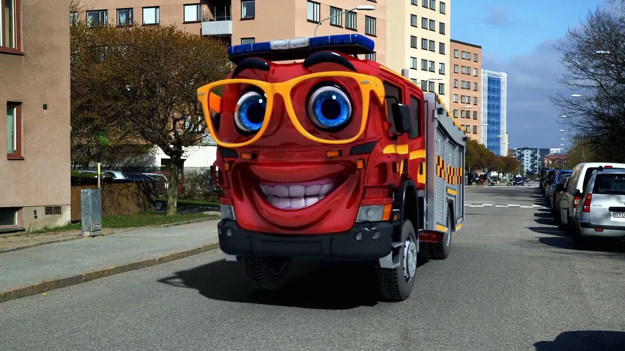 Bilakuten – Brandbilen