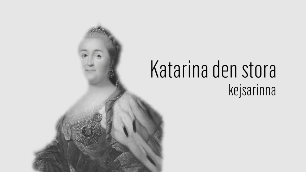 Berömda kvinnor – förr och nu: Katarina den stora