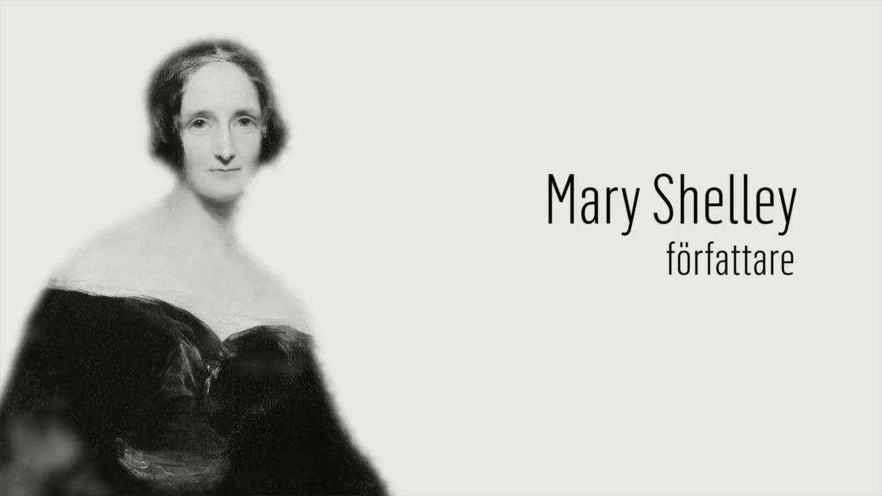 Berömda kvinnor – förr och nu: Mary Shelley