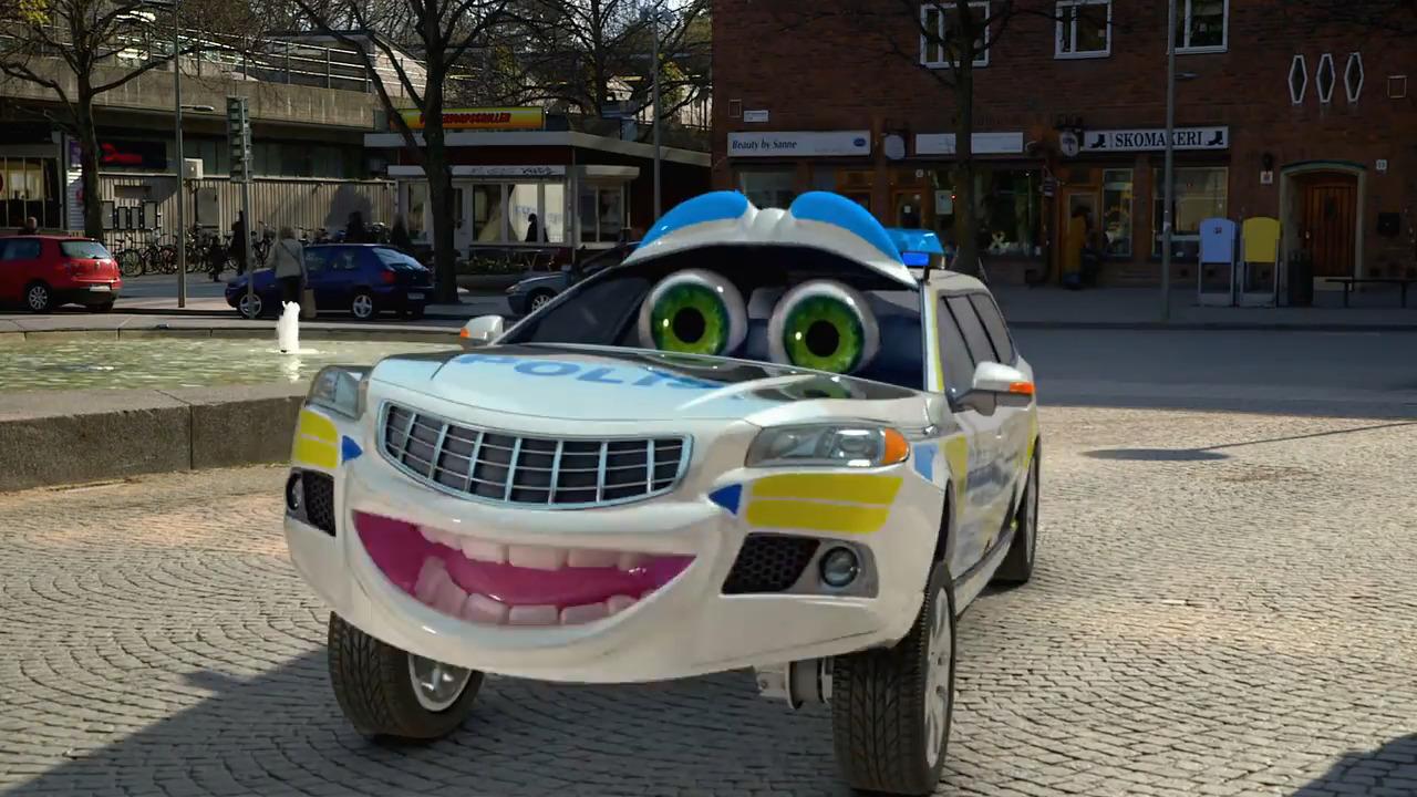 Bilakuten – Polisbilen