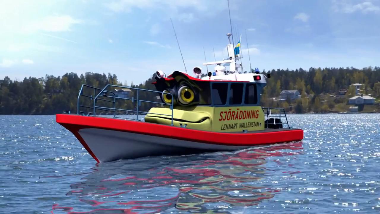 Bilakuten – Sjöräddningsbåten