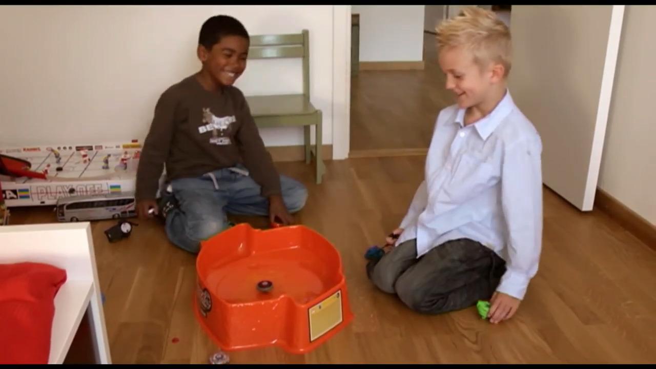 Börja skolan – Vincent och Elliot, del 10 av 12