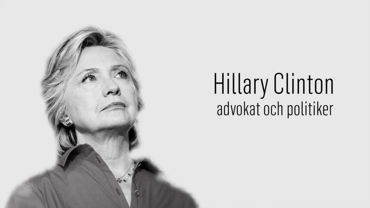 Berömda kvinnor – förr och nu: Hillary Clinton