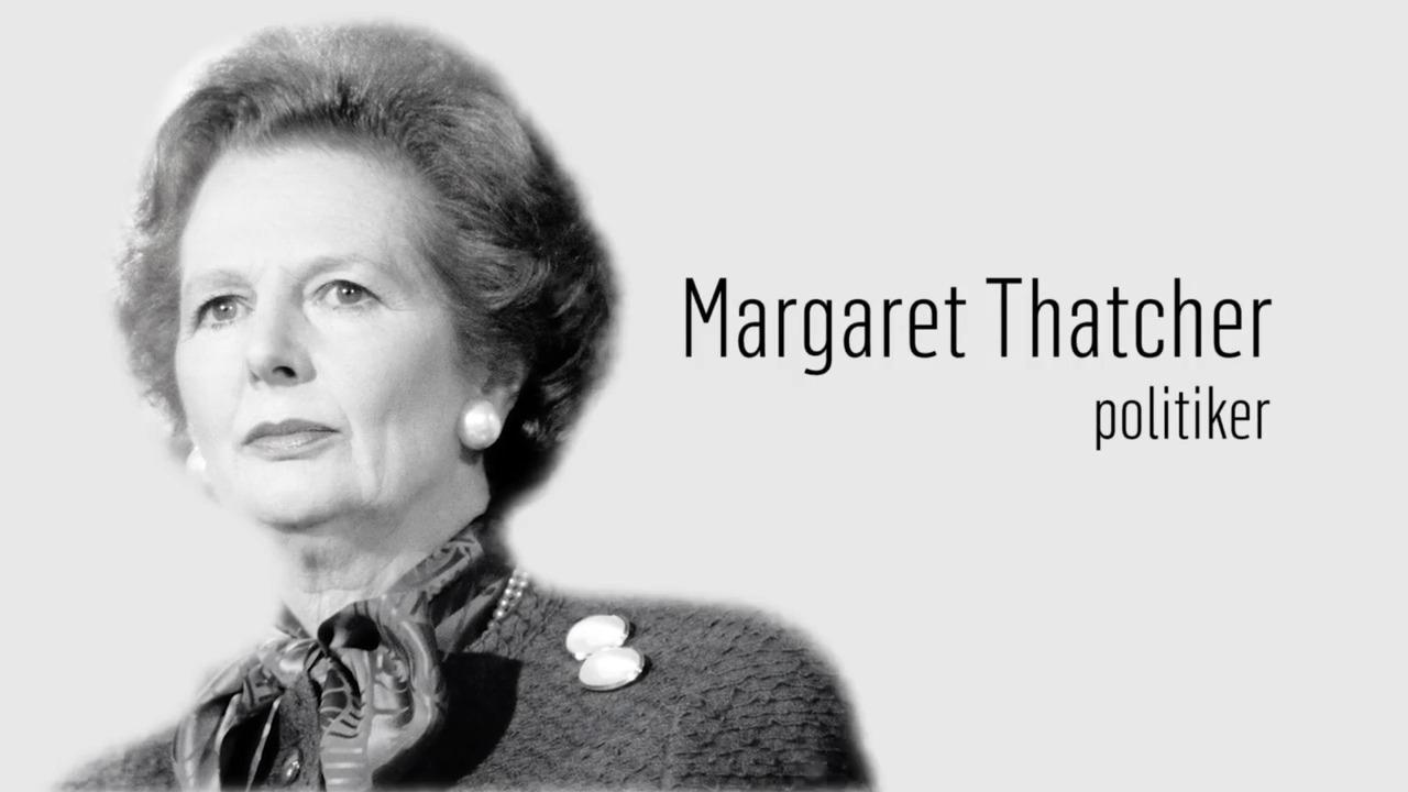 Berömda kvinnor – förr och nu: Margaret Thatcher