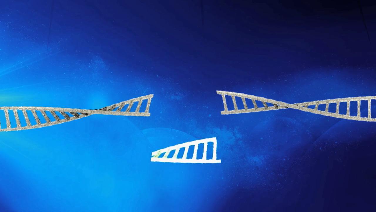 CRISPR-teknik och DNA