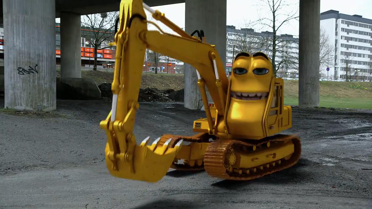 Bilakuten – Grävaren