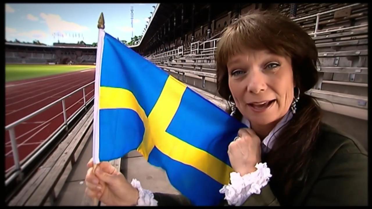 Evas superkoll - Svenska flaggan