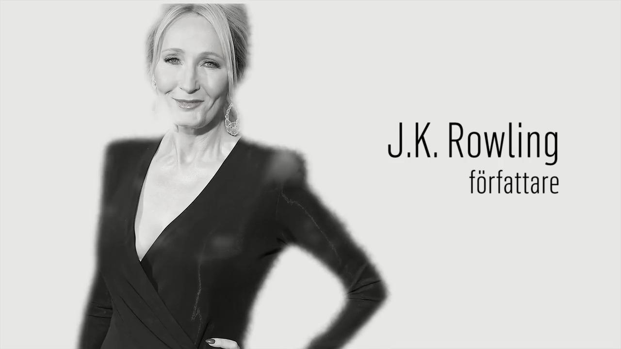 Berömda kvinnor – förr och nu: J.K. Rowling