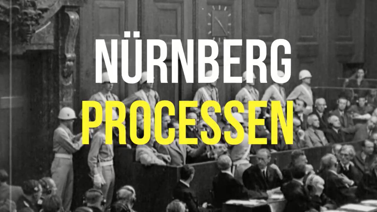 Förstå sammanhanget – Nürnbergprocessen