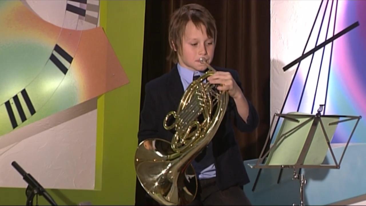Våra musikinstrument – valthorn