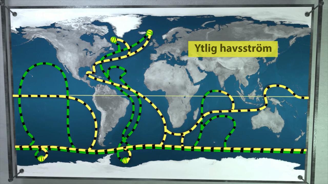 Hav och oceaner – havsströmmar