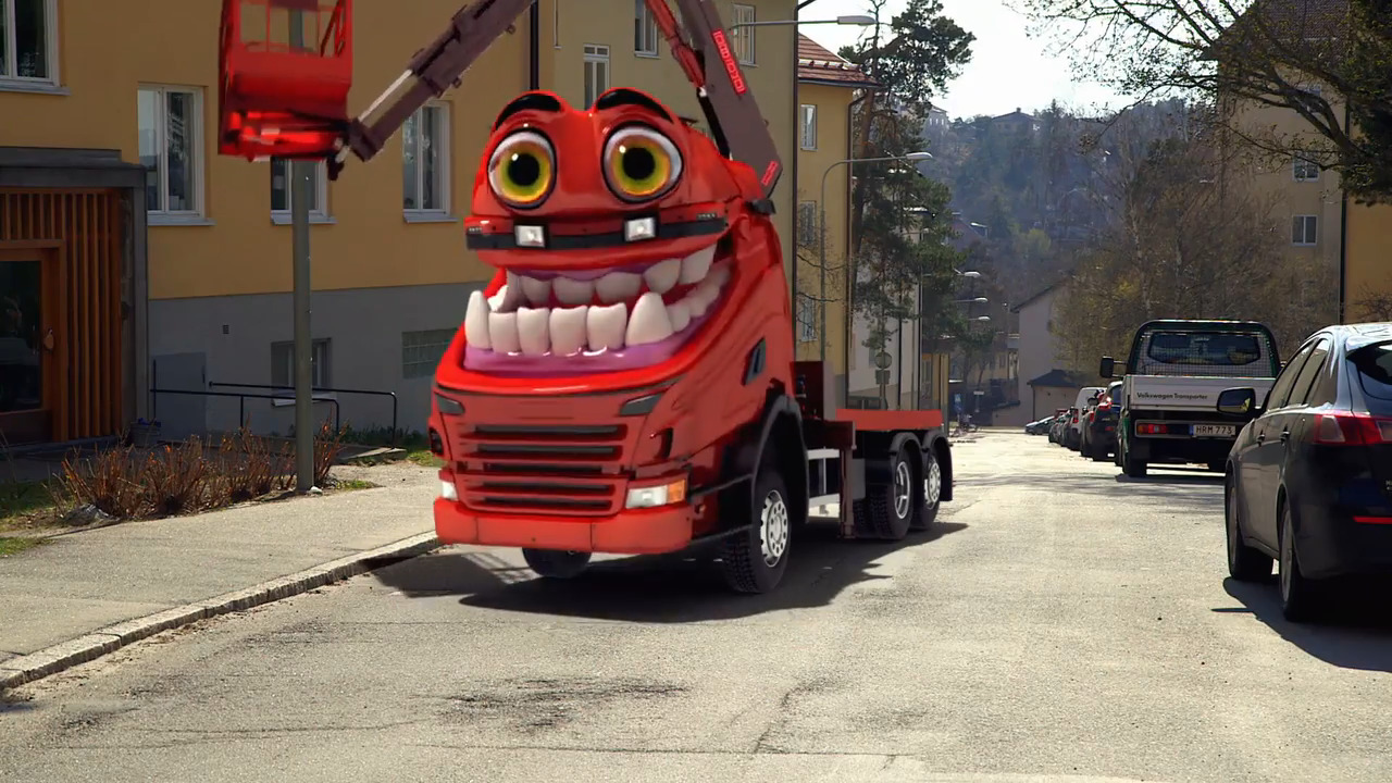 Bilakuten – Kranbilen