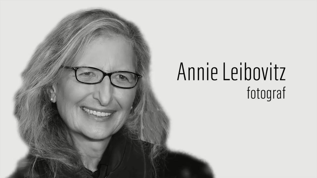 Berömda kvinnor – förr och nu: Annie Leibovitz