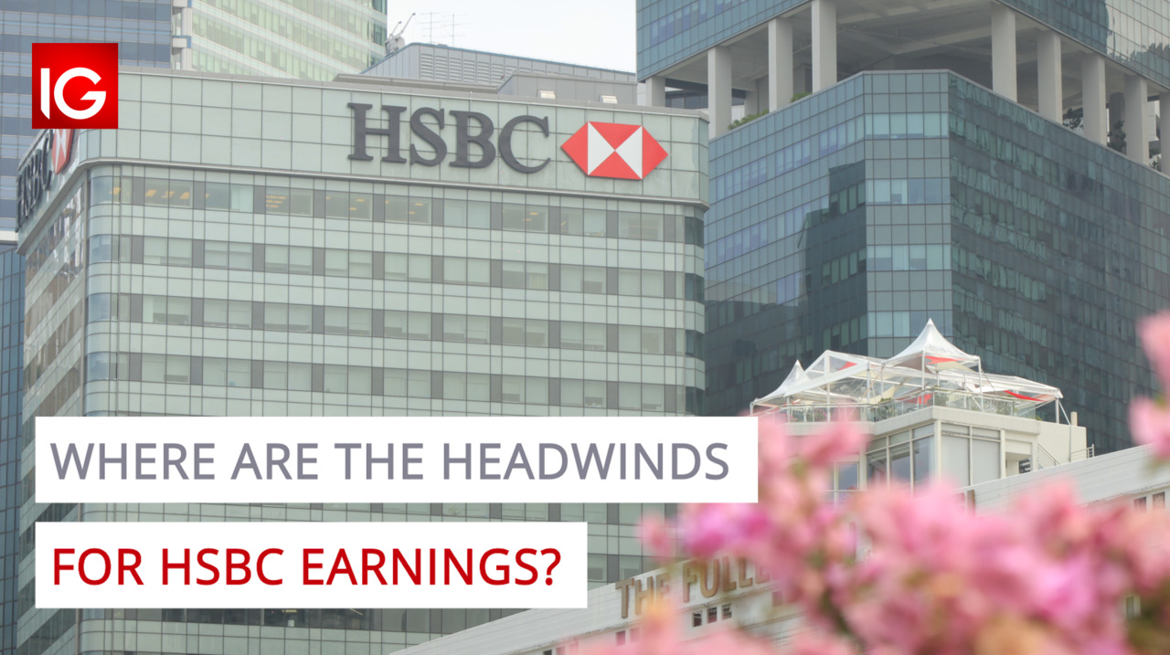 Where are the headwinds for HSBC earnings?