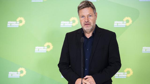 Habeck betont Geschlossenheit der Grünen-Spitze