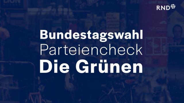 Parteien-Check vor der Bundestagswahl: Die Grünen