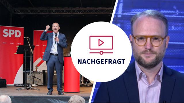 """""""Für eine Ampel muss Scholz Druck auf die FDP ausüben"""": Analyse zur SPD vor der Wahl"""