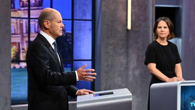 Umfrage: Scholz gewinnt drittes TV-Triell gegen Baerbock und Laschet