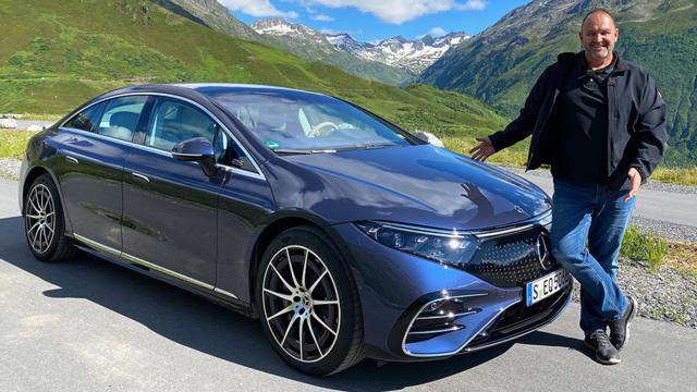 Mercedes EQS - Die elektrischen S-Klasse
