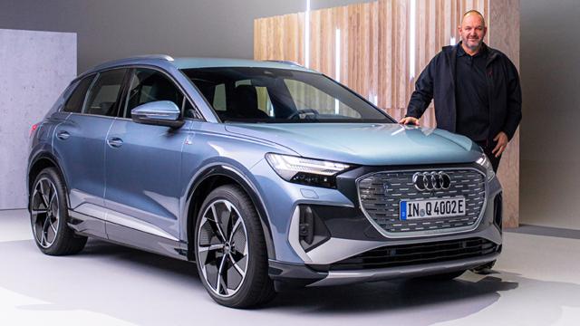 Audi Q4 e-tron Weltpremiere des Audi Kompakt E-SUV