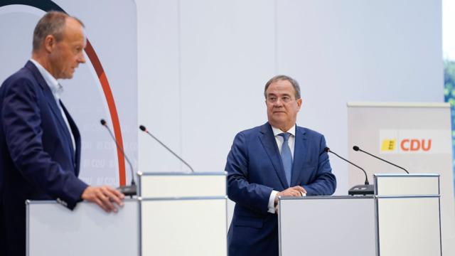 """Laschet warnt vor """"falscher Richtung für Deutschland"""""""