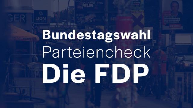 Parteien-Check vor der Bundestagswahl: FDP