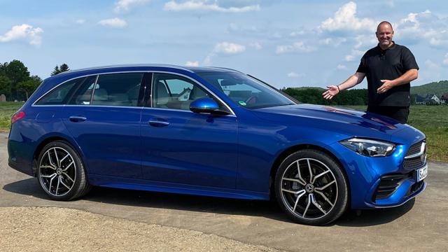 Die neue Mercedes C-Klasse im Test