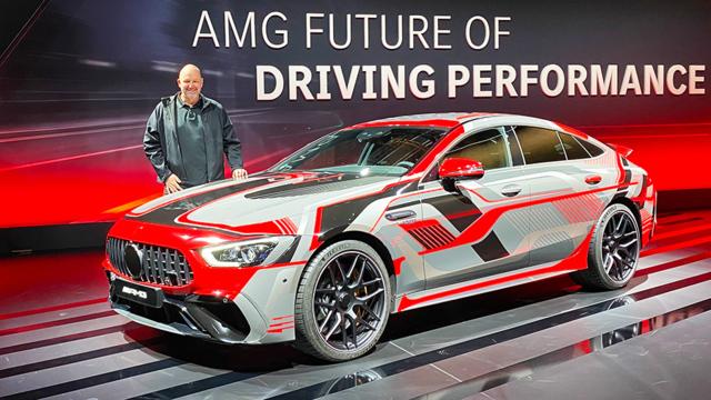 Die Zukunft von AMG ist elektrisch!