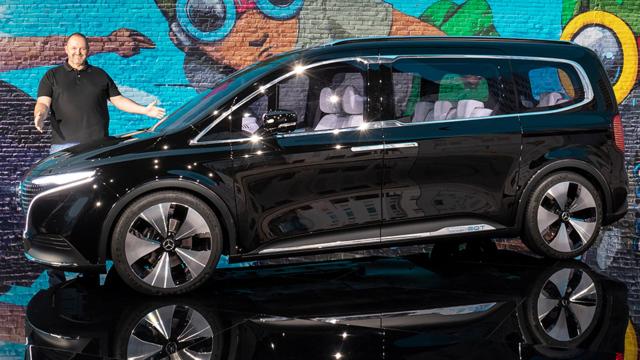 Mercedes EQT Concept - Die elektrische Mercedes T-Klasse