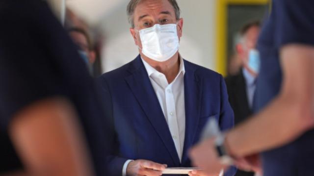 """CDU-Kanzlerkandidat Laschet: """"Hoffe, dass alle ihr Wahlrecht nutzen"""""""