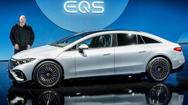 Mercedes EQS: Die elektrische Mercedes S-Klasse