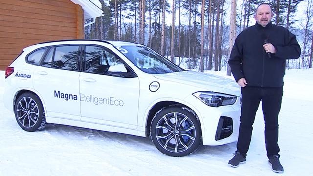 Magna Wintertest 2021 Neue Antriebe für BEV und PHEV