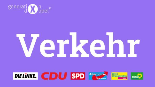 Wahlprogramme im Check: Das planen die Parteien beim Thema Verkehr