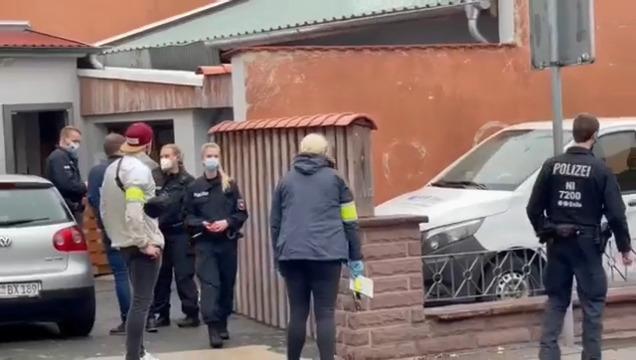 Razzia in Bückeburg