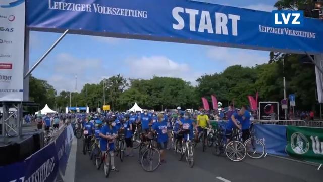LVZ-Fahrradfest: Die Stimmung vor dem Start