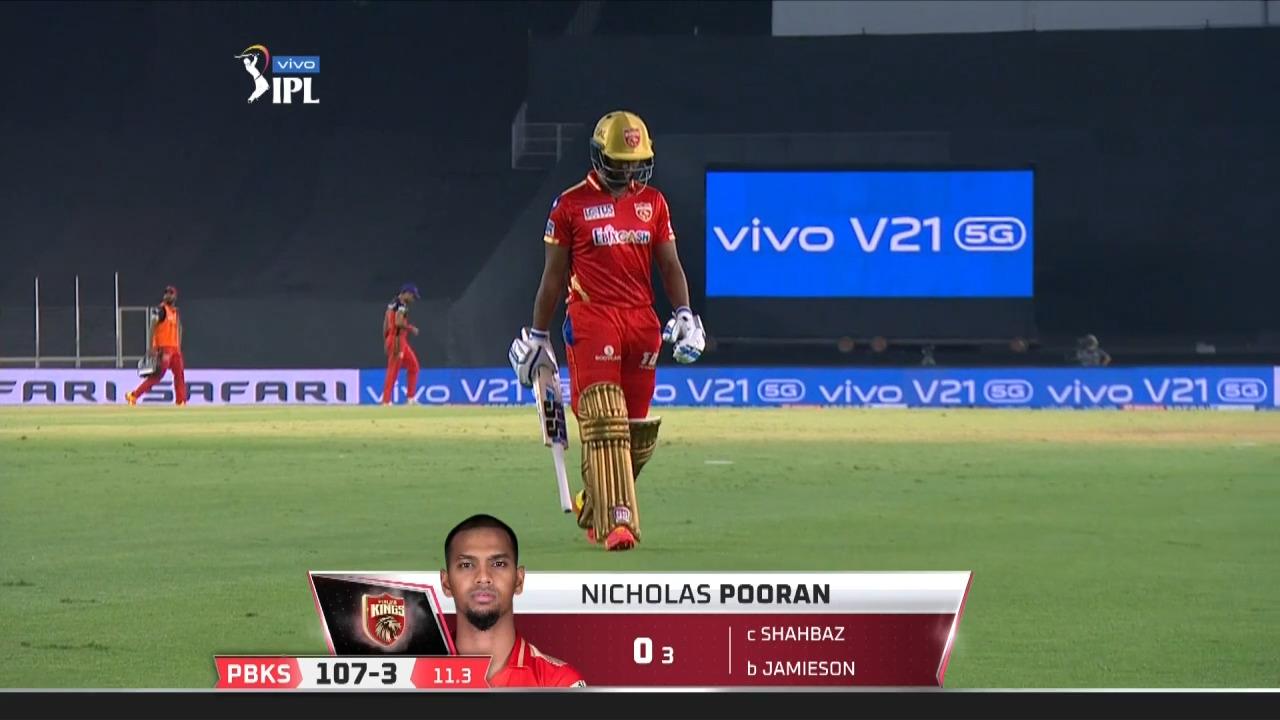M26: PBKS vs RCB – Nicholas Pooran Wicket