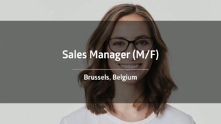Sales Manager (F/M)