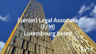 (Senior) Legal Associate (M/F)