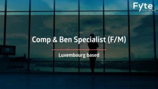 Compensation & Benefits Specialist (F/M)