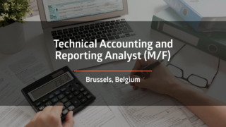 Technical Accounting and Reporting Analyst (F/M)