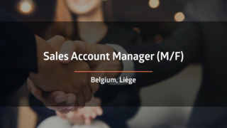 Sales Account Manager (F/M)